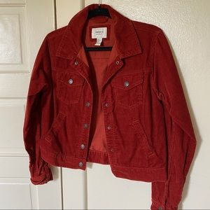 Forever 21 Cord Jacket